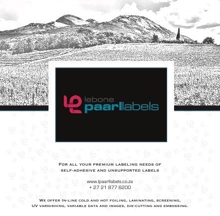 Lebone Paarl Labels - brand label design