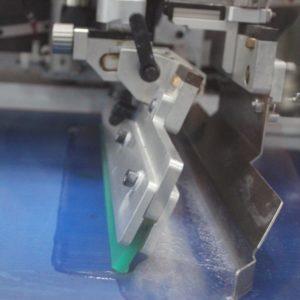 label screen printing