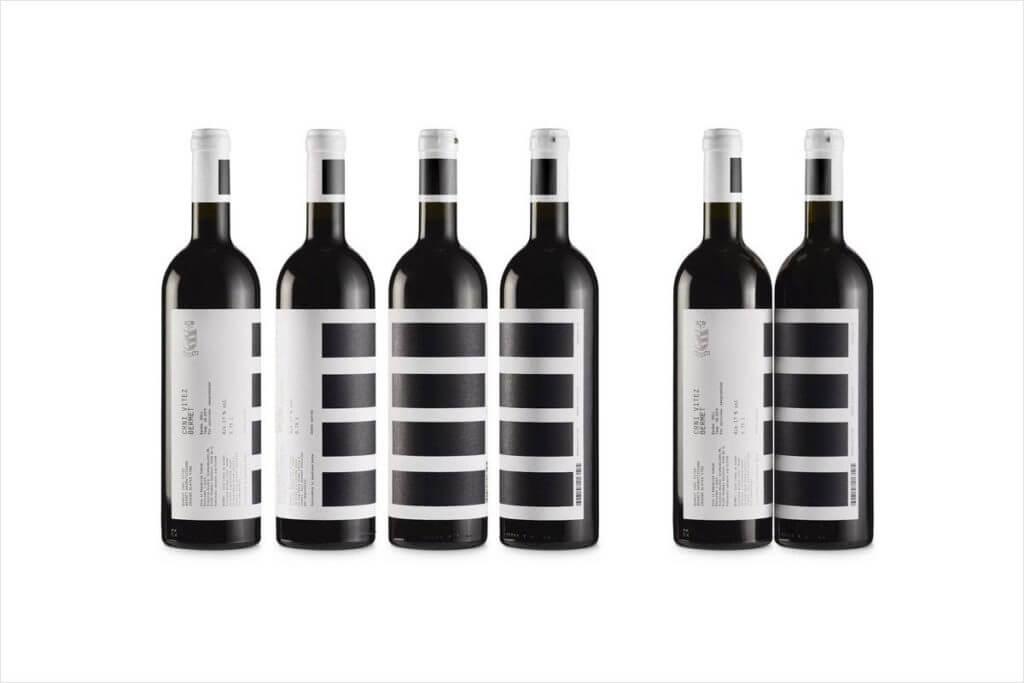 Modern Wine Label Designs